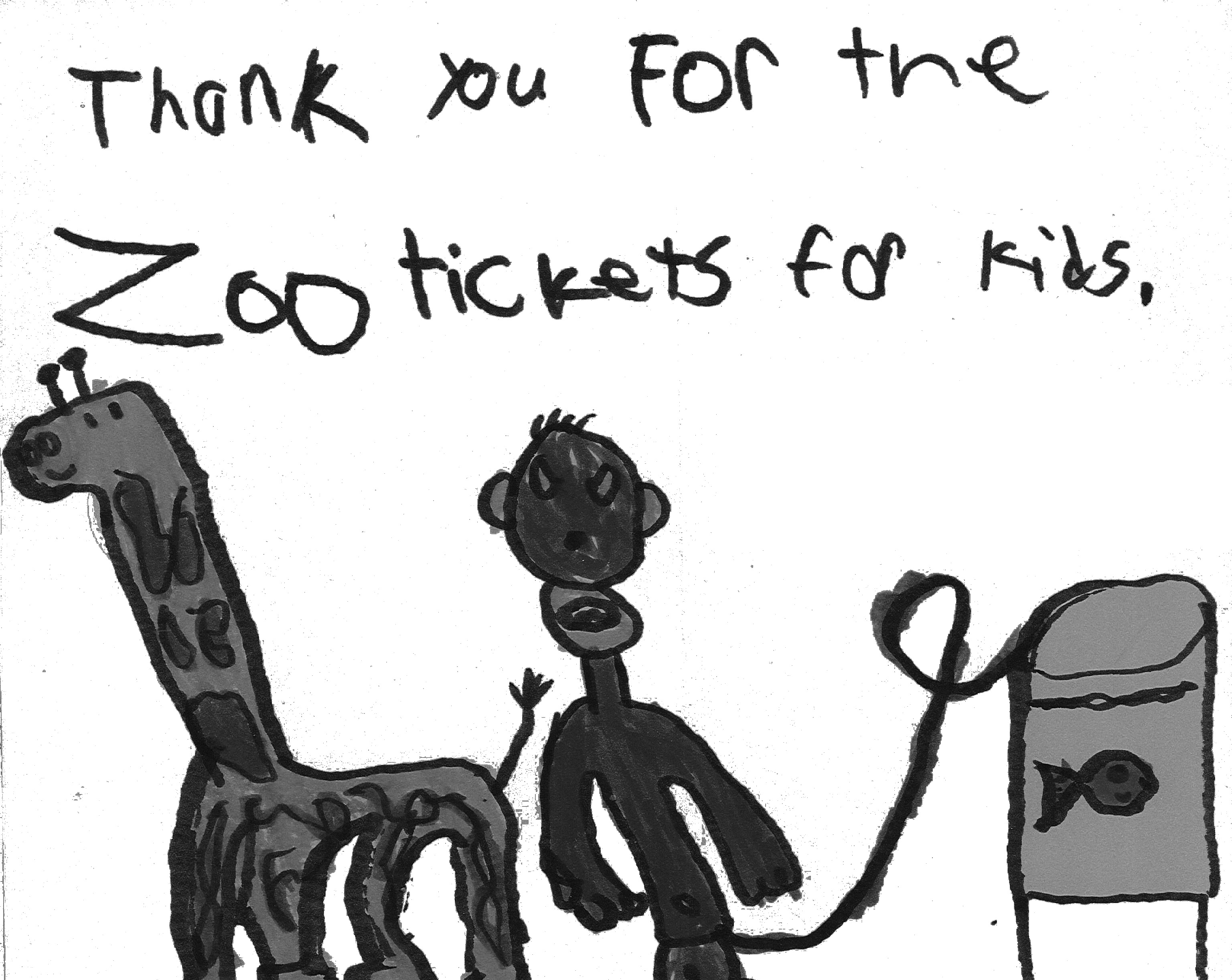 Zoo Thank You